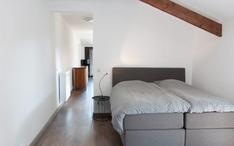 slaapkamer appartement de tuinkamer